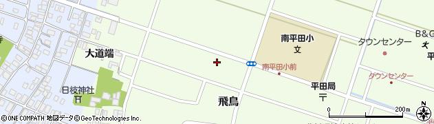山形県酒田市飛鳥大道端140周辺の地図