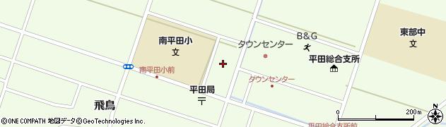 山形県酒田市飛鳥腰巻周辺の地図