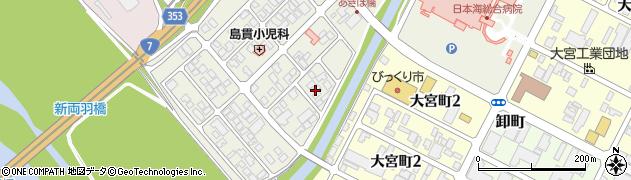 山形県酒田市あきほ町660周辺の地図