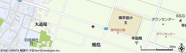山形県酒田市飛鳥83周辺の地図