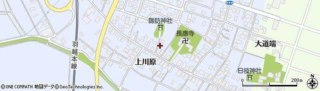山形県酒田市砂越楯之内222周辺の地図