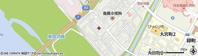 山形県酒田市あきほ町663周辺の地図