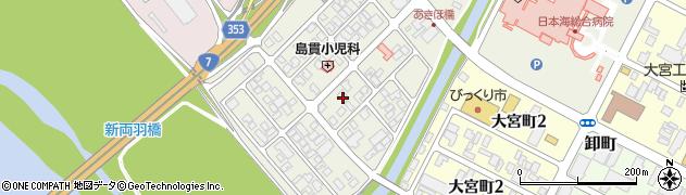 山形県酒田市あきほ町659周辺の地図