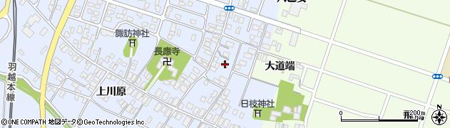 山形県酒田市砂越楯之内98周辺の地図