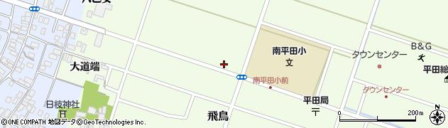 山形県酒田市飛鳥矢舞台64周辺の地図