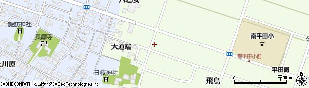 山形県酒田市飛鳥大道端152周辺の地図