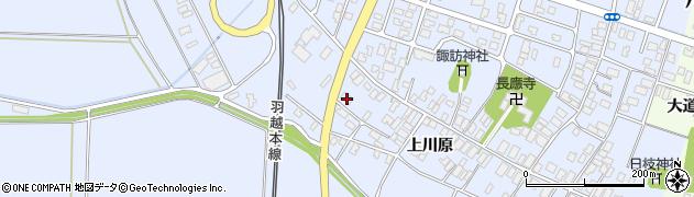 山形県酒田市砂越上川原519周辺の地図