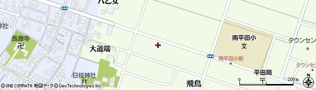 山形県酒田市飛鳥大道端148周辺の地図