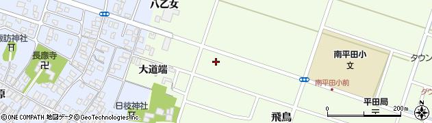 山形県酒田市飛鳥大道端150周辺の地図