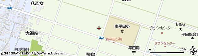 山形県酒田市飛鳥(矢舞台)周辺の地図