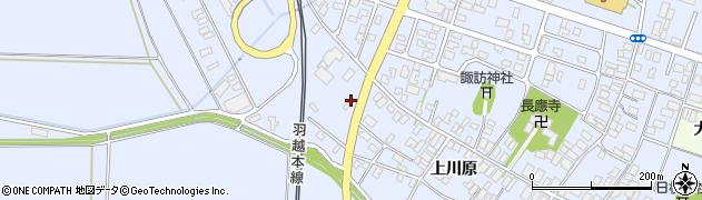 山形県酒田市砂越上川原517周辺の地図