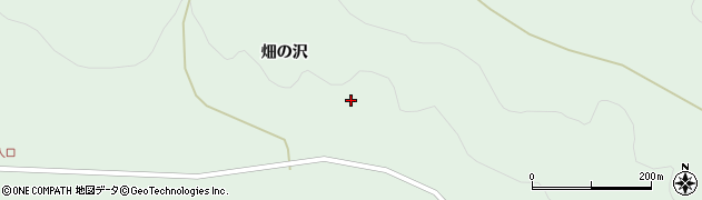 岩手県一関市川崎町薄衣(畑の沢)周辺の地図