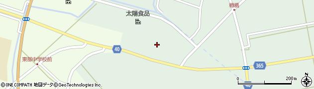 山形県酒田市楢橋荒町134周辺の地図