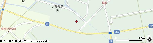 山形県酒田市楢橋(大林)周辺の地図