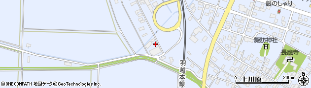 山形県酒田市砂越上川原426周辺の地図