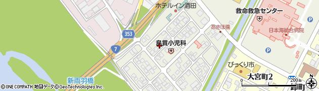山形県酒田市あきほ町657周辺の地図