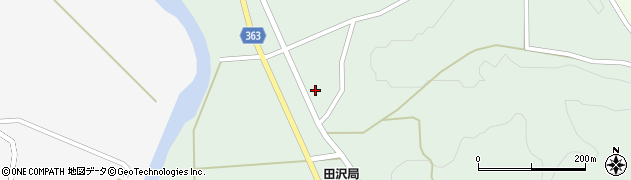 山形県酒田市田沢赤田淵35周辺の地図