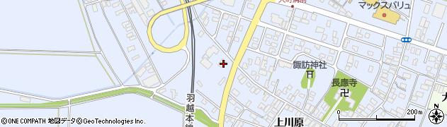 山形県酒田市砂越上川原509周辺の地図