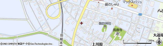 山形県酒田市砂越楯之内174周辺の地図