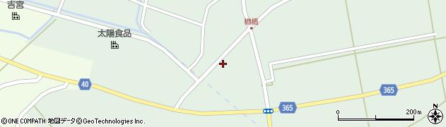 山形県酒田市楢橋荒町79周辺の地図