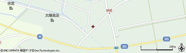 山形県酒田市楢橋荒町76周辺の地図