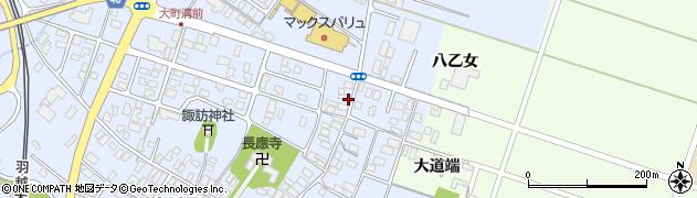 山形県酒田市砂越楯之内151周辺の地図