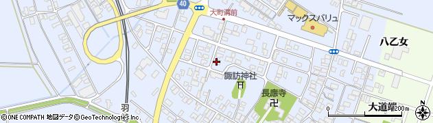 山形県酒田市砂越楯之内周辺の地図