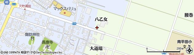 山形県酒田市飛鳥八乙女34周辺の地図
