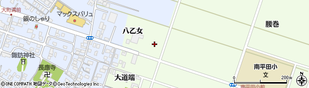 山形県酒田市飛鳥八乙女31周辺の地図