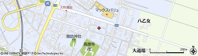 山形県酒田市砂越楯之内31周辺の地図
