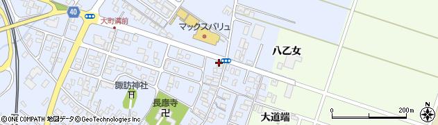 山形県酒田市砂越楯之内30周辺の地図