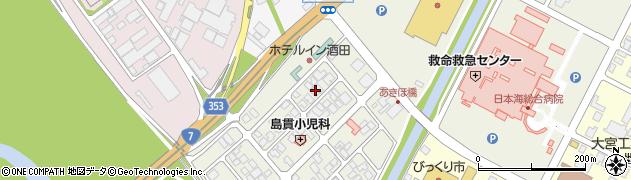 山形県酒田市あきほ町655周辺の地図