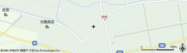 山形県酒田市楢橋荒町49周辺の地図