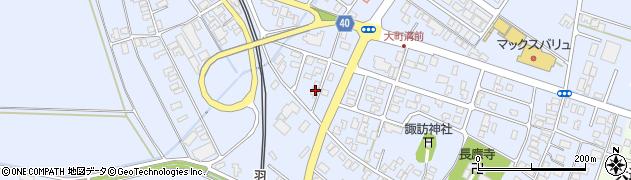 山形県酒田市砂越楯之内156周辺の地図