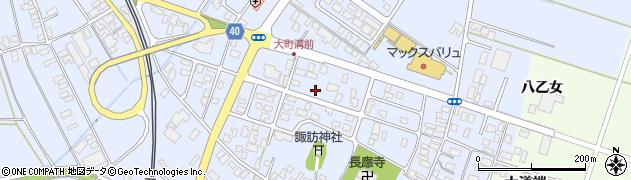 山形県酒田市砂越楯之内44周辺の地図