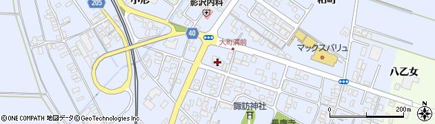 山形県酒田市砂越楯之内52周辺の地図