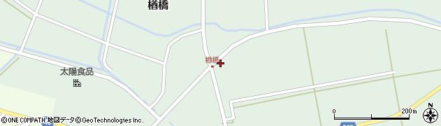 山形県酒田市楢橋荒町32周辺の地図