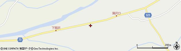山形県最上郡金山町有屋176周辺の地図