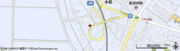 山形県酒田市砂越上川原170周辺の地図