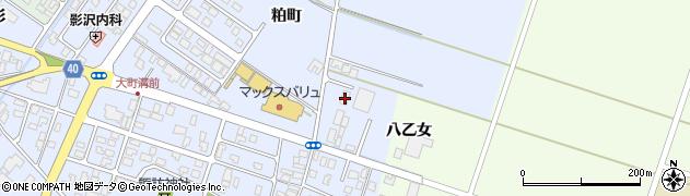 山形県酒田市砂越粕町20周辺の地図