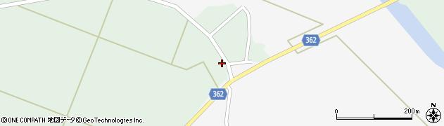 山形県酒田市上北目谷地田23周辺の地図
