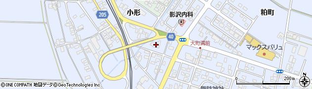 山形県酒田市砂越楯之内60周辺の地図