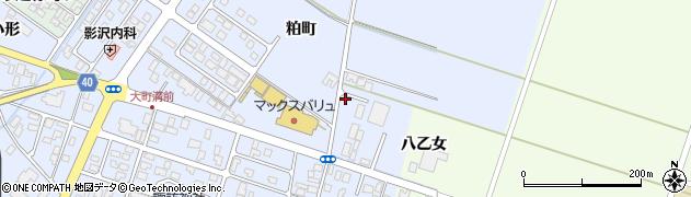 山形県酒田市砂越粕町21周辺の地図