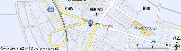 山形県酒田市砂越楯之内59周辺の地図