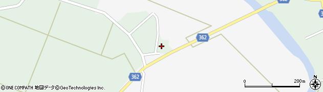 山形県酒田市上北目谷地田周辺の地図