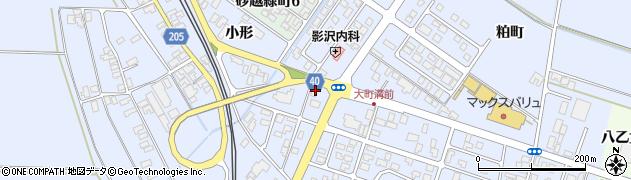 山形県酒田市砂越楯之内58周辺の地図