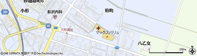 山形県酒田市砂越粕町77周辺の地図