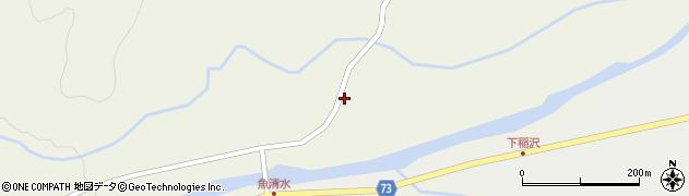 山形県最上郡金山町金山1105周辺の地図