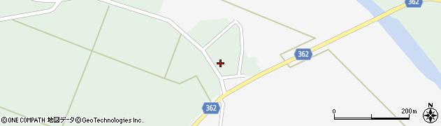 山形県酒田市上北目周辺の地図