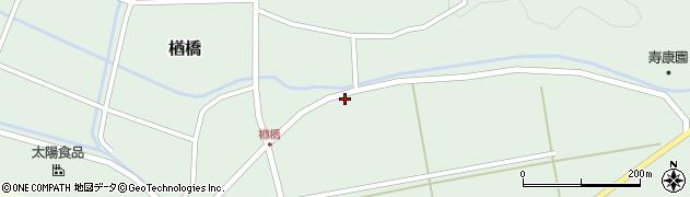 山形県酒田市楢橋上川原189周辺の地図
